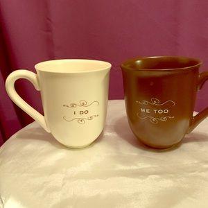Bridal Coffee Mug Set